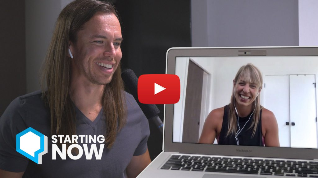 Krista Stryker - Starting Now with Jeff Sarris