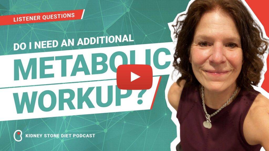 Blood Work - Kidney Stone Diet with Jill Harris