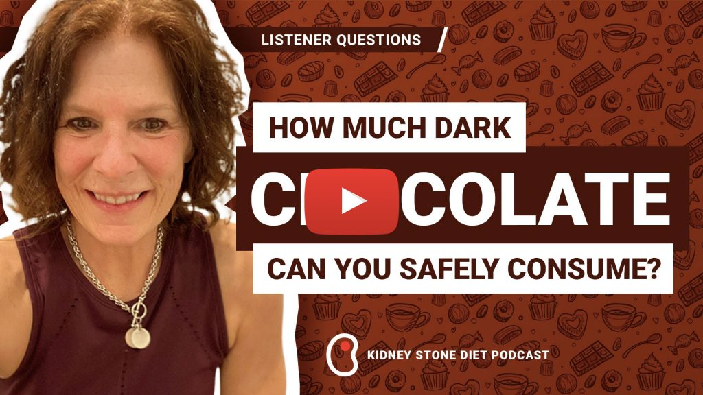 Dark Chocolate and Pre/Post-Workout Snacks - Kidney Stone Diet Podcast with Jill Harris