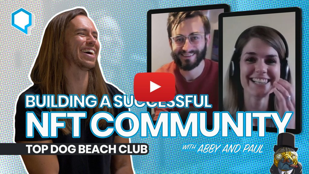 Building a Successful NFT Community with Abby and Paul of Top Dog Beach Club - Starting Now Podcast with Jeff Sarris