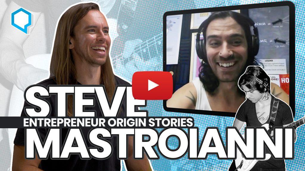 Steve Mastroianni - Entrepreneur/Rockstar (VOID, The Envy)