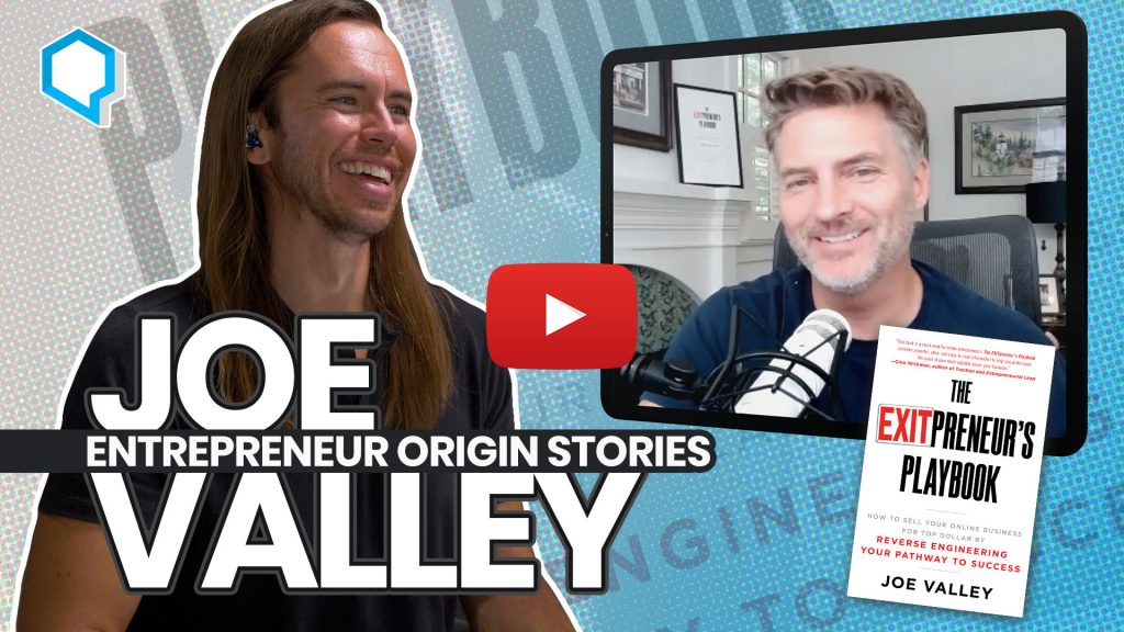Joe Valley - The EXITpreneur's Playbook